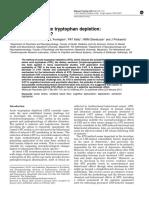 Mechanism of Acute Tryptophan Depletion