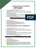 Promo Con El Hotel Las Americas