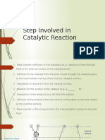 Step Involved in Catalytic Reaction - Copy