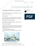 A importância da Biossegurança na Odontologia.pdf
