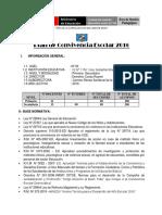 1ra. Edición Plan de Convivencia Escolar Para Instituciones Educativas Ccesa007