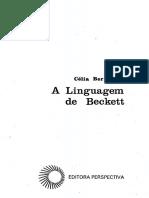 A Linguagem de Beckett - Berrettini