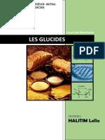 Polycopie Sur Les Glucides Realise Par Mme HALITIM Leila