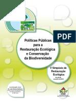 Políticas públicas para a restauração ecológica