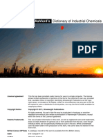 Industrial chemical engineering