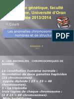 5. Cours.anomalie Chromosomique