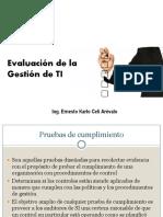 Evaluación Gestión TI - 1