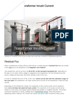 Importance of Transformer Inrush Current _ EEP