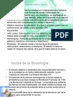Filosofia Contractual, Inicios de La Sociologia y Su Particular Mirada