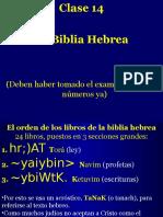 Clase 14 LaBiblia Hebrea
