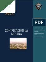 Monografia de Zonificacion La Molina