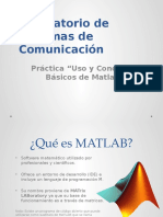Presentation Uso y Conceptos Basicos MATLAB