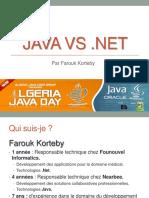 Java vs Net