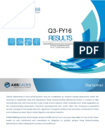 Q3 - FY16 Results [Company Update]