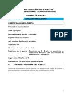 Descripción y perfil de puestos