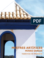 Mestres Artificeis Minas Gerais - IPHAN