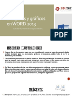 Clase 2 Imágenes Ilustraciones y Gráficos WORD 2013