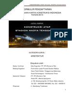 Karya Konstruksi - Stadion Madya Tenggarong
