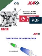 Alineacion Laser Dilatacion Termica