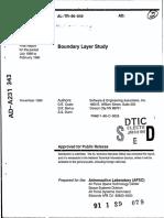 Boundary Layer Study
