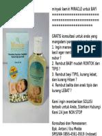 cara alami penumbuh rambut bayi, penumbuh rambut alami pada bayi, tumbuhan alami penumbuh rambut bayi, 085645610919