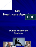 1 03 healthcare agencies