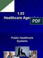 1 03 healthcare agencies
