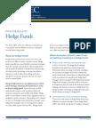 Investor bulletin - Hedgefunds