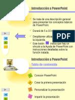 Introducción a PowerPoint