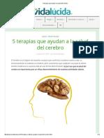 5 Terapias Que Ayudan a La Salud Del Cerebro