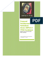 Proposal Pendanaan Perbaikan Akses SMPLB-A YPAB Surabaya Diajukan bersama Universitas Petra, Surabaya