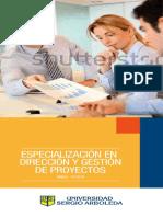Esp en Direccion y Gestion de Proyectos