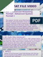 Format File Video