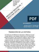 Medicina Tradicional y Medicina Individual