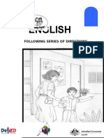 English 6 DLP 10 Following Series of Directions