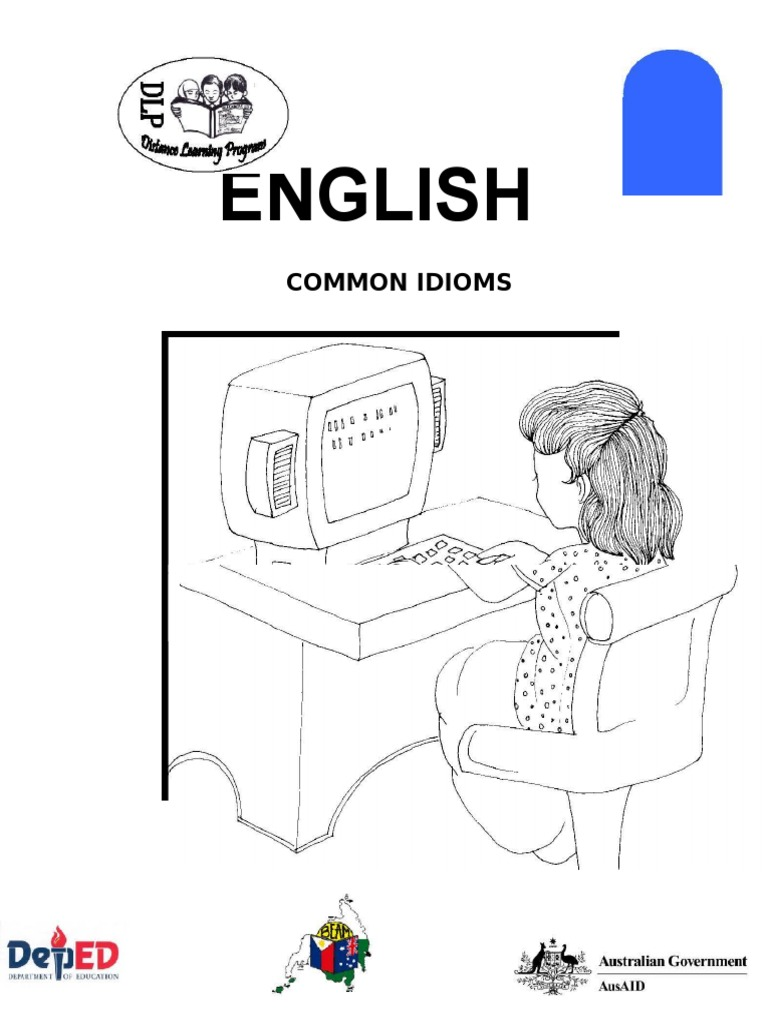 English 6 Dlp 12 Common Idioms Idiom Linguistics