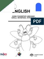 English 6 DLP 13 Using Figurative Language Simile Metaphor Hyperb