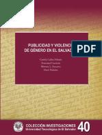 Publicidad y Violencia de Genero en El Salvador
