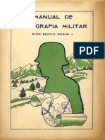Manual de Topografía Militar. (1949)