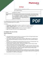 Analyst Meet IR Flash Q3FY 2016 [Company Update]