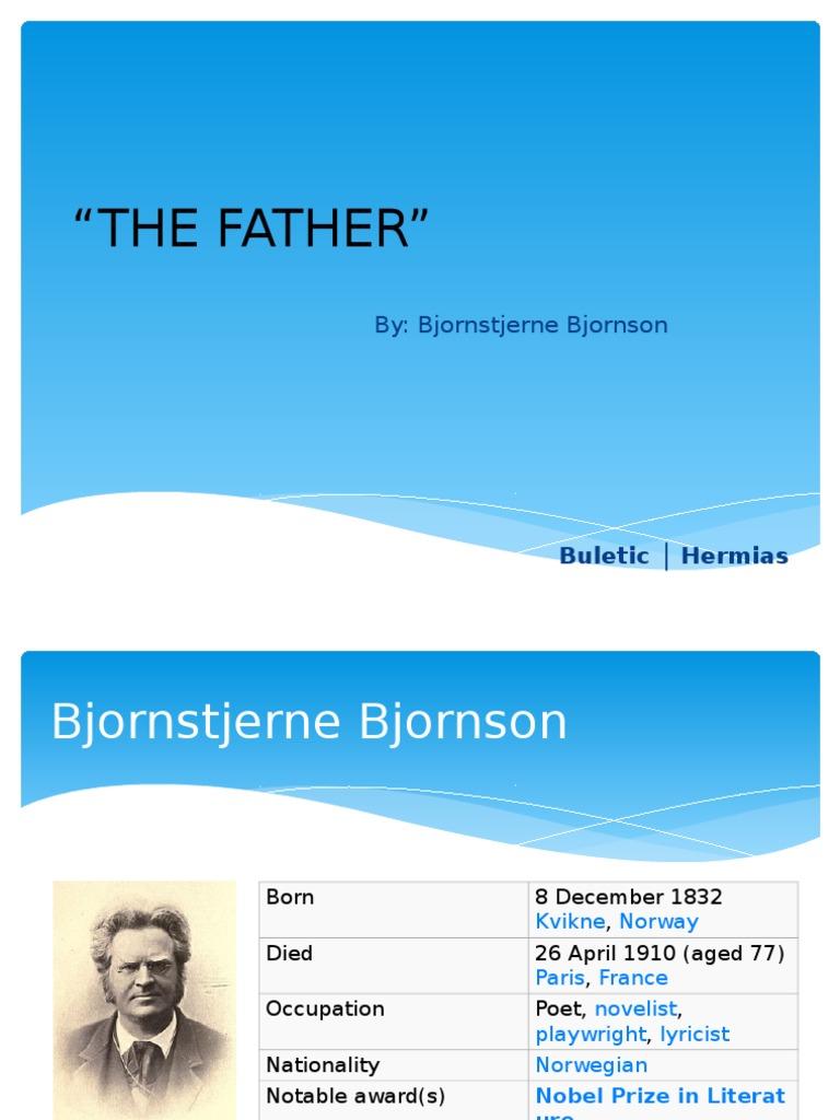 the father by bjornstjerne bjornson conflict