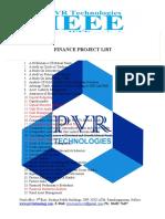 Pvr Technologies Mba Finance Titles List