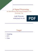 P01 - Pengantar Digital Signal Processing