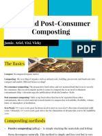 group 1c- pre- and post-consumer composting