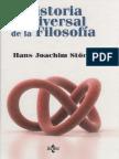 Storig Hans Joachim - Historia Universal de La Filosofia