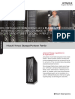 Hitachi Overview Brochure Vsp Family