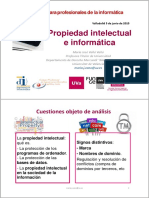 Propiedad Intelectual e Informática-Valladolid 2015