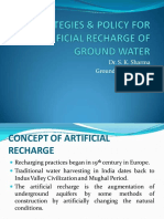 Groundwater Recharge Sk Sharma