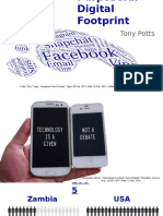 purposeful digital footprint without video