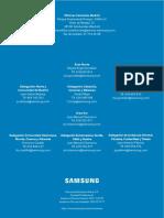 Tarifa Samsung 2016 Aire Acondicionado